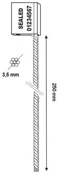 [cml_media_alt id='5410']CABLESEAL Sigillo a cavo da 3.5x250 mm[/cml_media_alt]