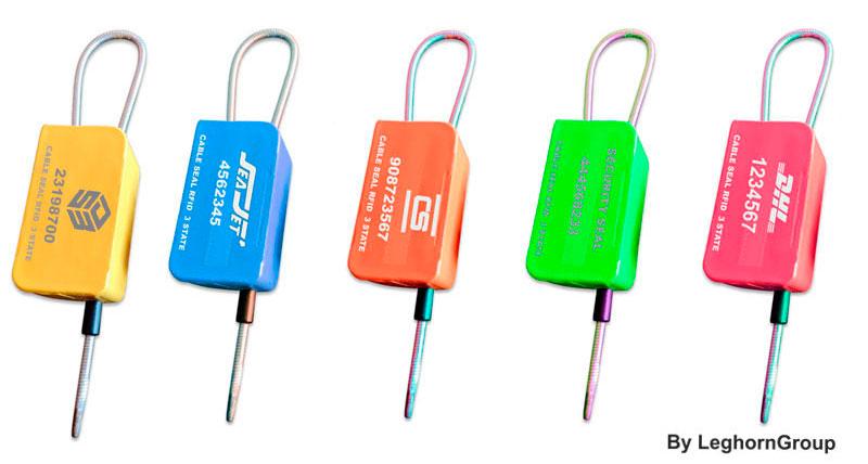 sigiliu cablu rfid uhf trei stari myrmidon seal culori personalizari